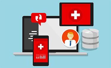 حسابات برنامج ادارة العيادات الطبية الخاصة